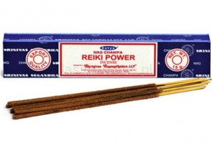 Naturalne Kadzidła SATYA - Reiki Power Incense 15g