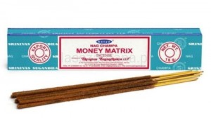 Naturalne Kadzidła SATYA - Money Matrix Incense 15g