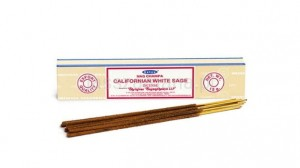 Naturalne Kadzidła SATYA - Californian White Sage Incense 15g