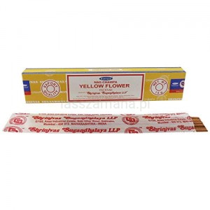 Naturalne Kadzidła SATYA - Yellow Flower Incense 15g