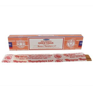 Naturalne Kadzidła - SATYA Greetings Incense 15g
