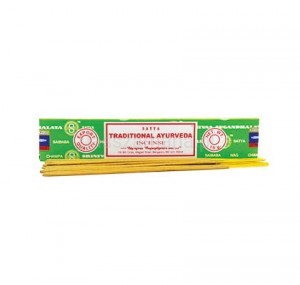 Naturalne Kadzidła SATYA - Traditional Ayurveda Incense 15g